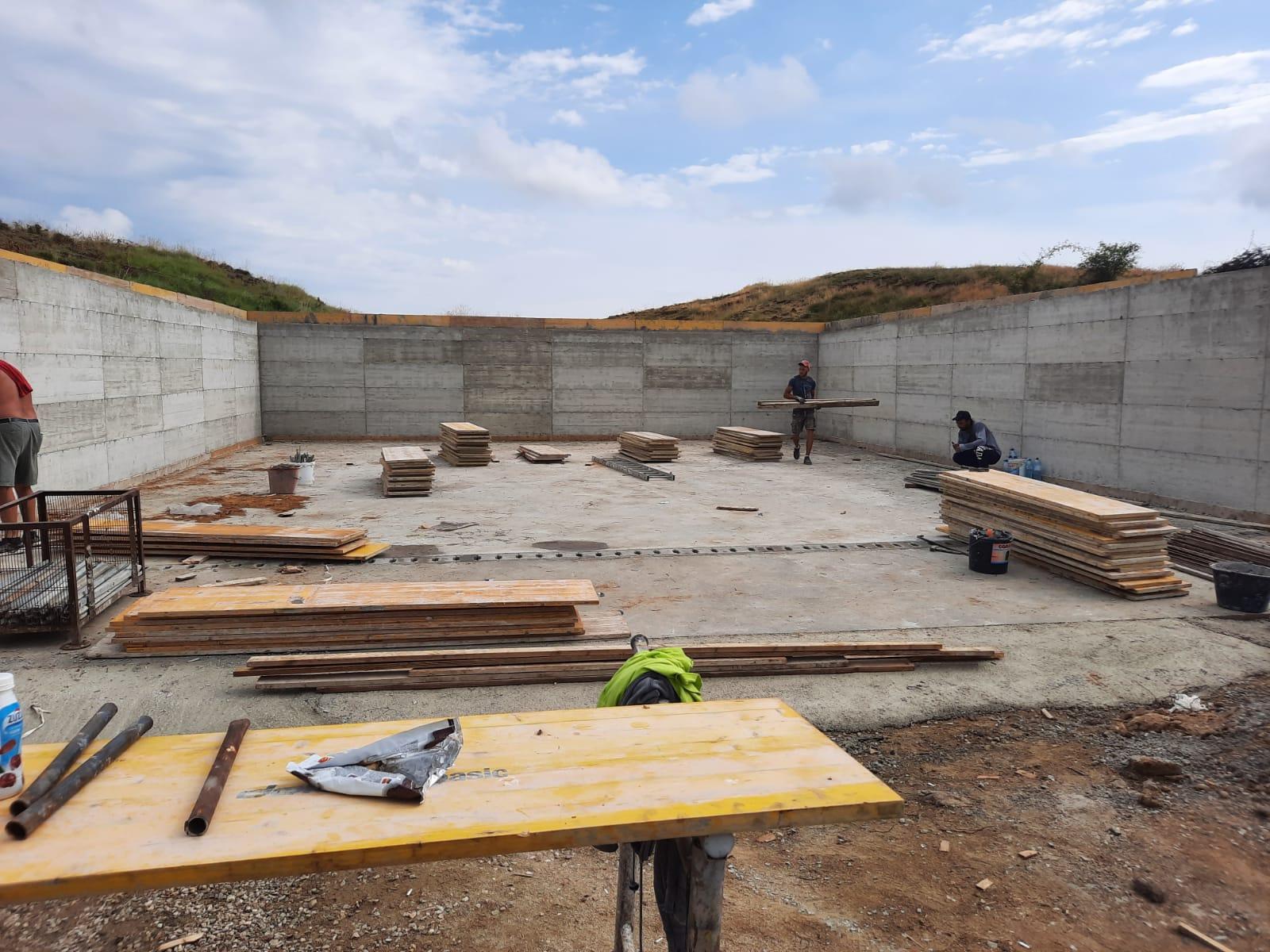 Construire platforma depozitare gunoi de grajd-proiect 61/2020 Dumbrava