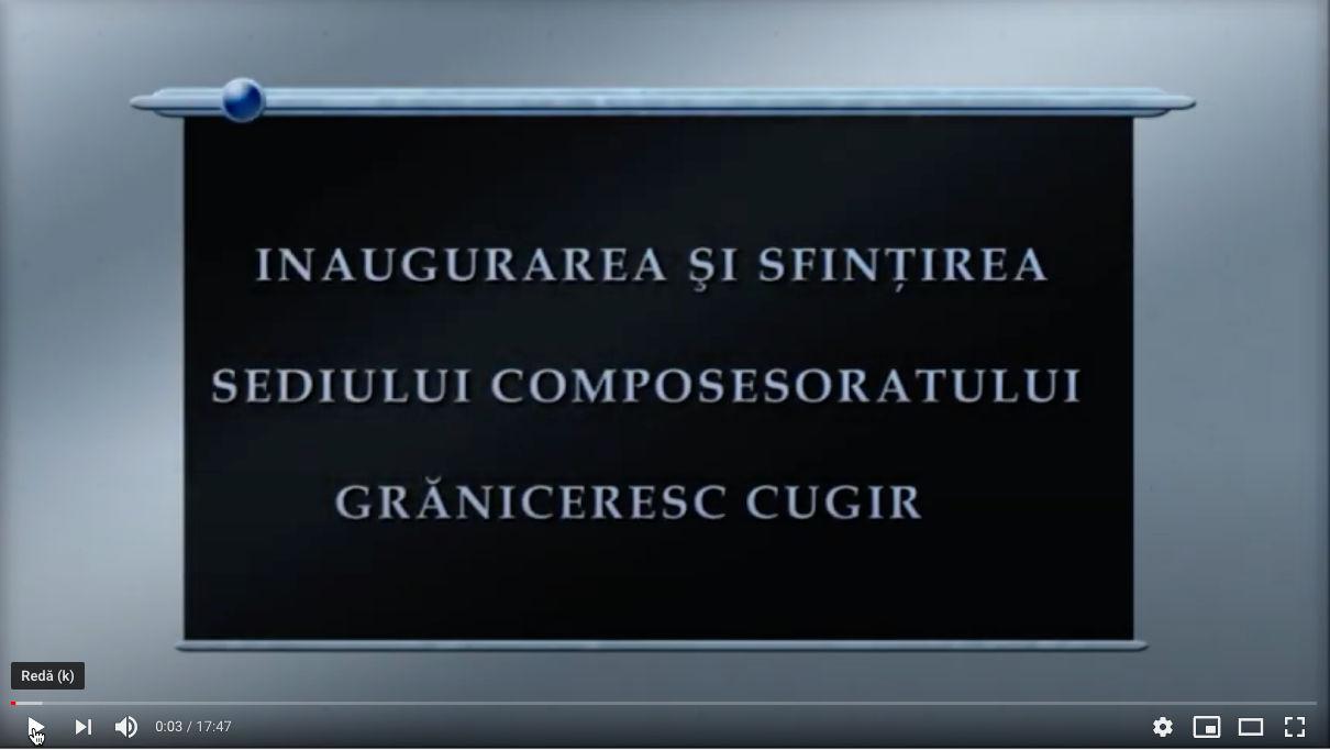 Inaugurare Composesorat Graniceresc Cugir - partea 1/8